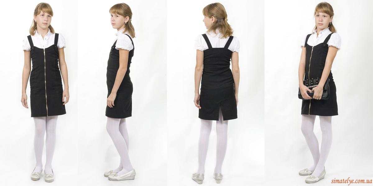 Платье для школы для подростков своими руками 16